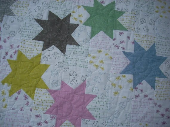 stars for stella quilt pattern sheet