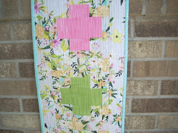 blush and bloom plus runner pattern