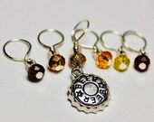 Beer Stitch Markers...