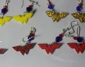 Wonder Woman Earrings...