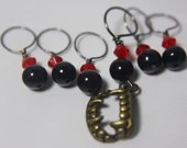 Fangs a Lot Stitch Marker...
