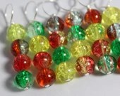 Spring Stitch Markers...