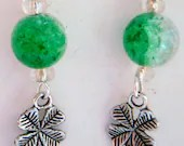 Four Leaf Clover Earrings...