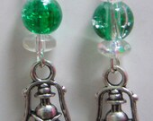 Green Lantern Earrings...