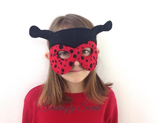 Child's Felt Ladybird Mask