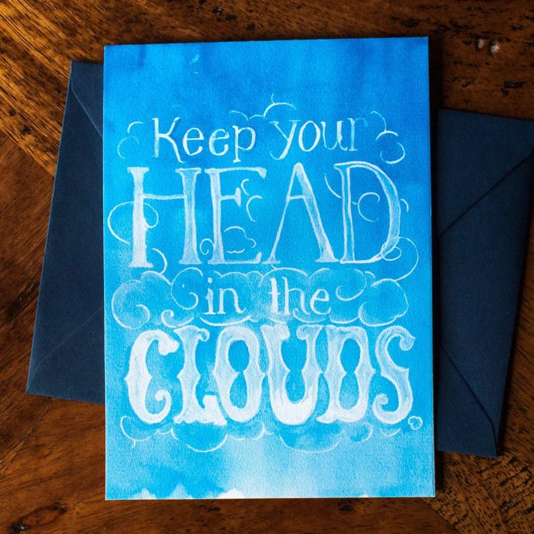 Head in the Clouds - Card...