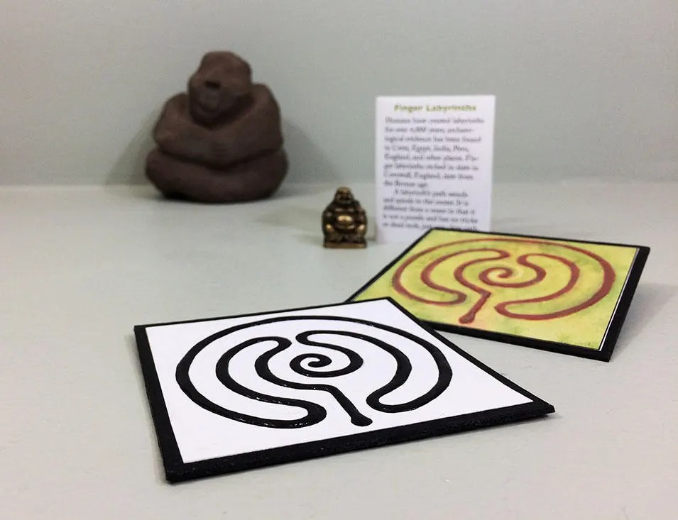 Diy Finger Labyrinth Printable Download Of A Mini