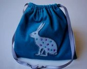 Drawstring Bag- Star Rabbit Medicine Bag