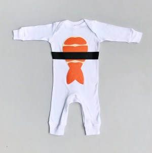 The Cutest Little Baby Sushi Costume