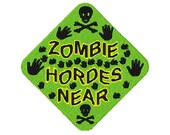 Zombie hordes embroidery design, Zombie hordes digitized embroidery design