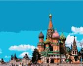 Moscow cross stitch pattern pdf