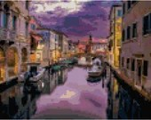 Cross stich Grand Canal in Italy pdf pattern