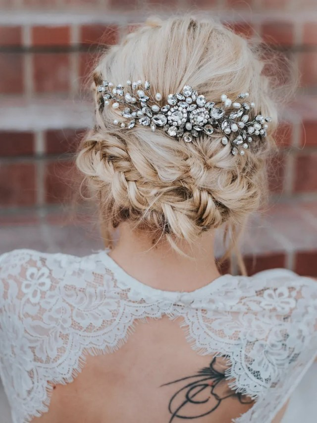 """wedding hair accessories, bridal comb, bridal hair accessories, bridal headpiece ~ """"carmen"""" large bridal hair comb in silver or gold"""