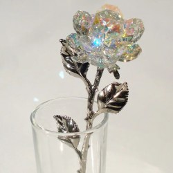 41ec9419a Swarovski Crystal Vase With Flowers | Gardening: Flower and Vegetables