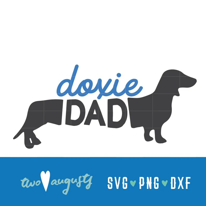 Download Doxie Dachshund Dad Love SVG DXF PNG Christian File | Etsy