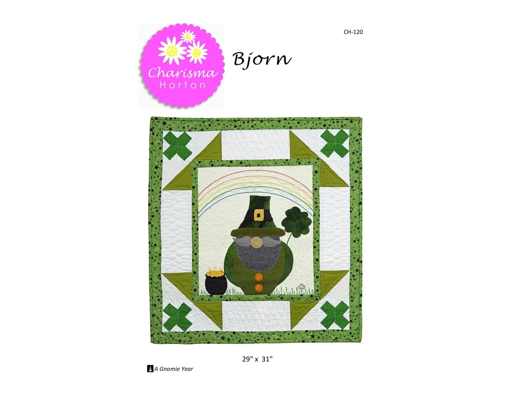 A Gnomie Year, Bjorn , March Monthly pdf pattern