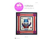 A Gnomie Year, Vilhelm, July Paper Pattern