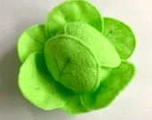 Felt Food | Felt Cabbage | Play Food | Food Toy | Play Pretend | Waldorf Toys | Play Kitchen | Montessori | Felt Vegetable | Lettuce