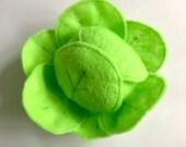 Felt Food | Felt Cabbage | Play Food | Food Toy | Play Pretend | Waldorf Toys | Play Kitchen | Montessori | Felt Vegetable | Lettuce