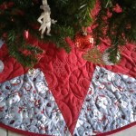 Snowman Christmas Tree Skirt Personalize Options 3 Sizes Etsy