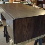 Reclaimed Wood Office Desk Executive Desk Mid Century Modern Design Desk