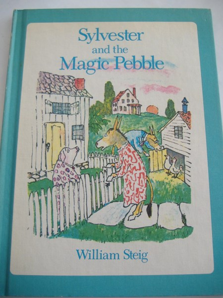 William steig   Etsy Sylvester and the Magic Pebble by William Steig  Hardcover Children s Book   1969
