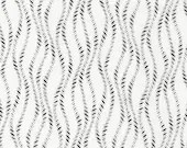 Vanessa Vargas Wilson Fabric Collection - Kinfolk - Wavy Stripe White