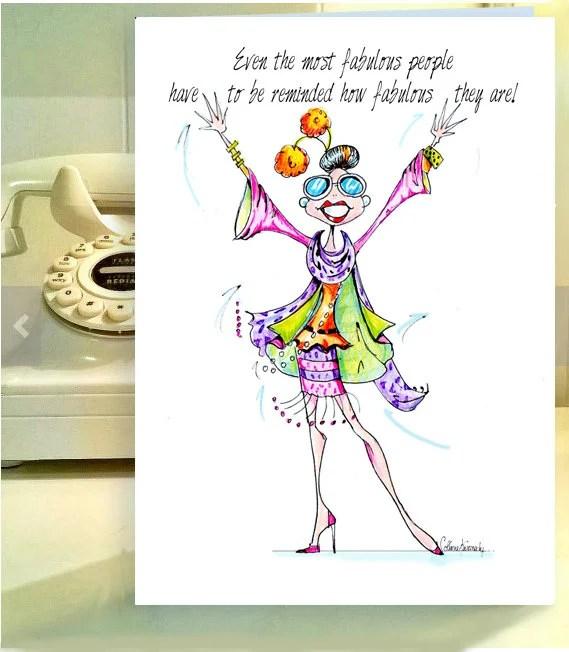 Funny Woman Birthday Cards Funny Birthday Card Women Etsy