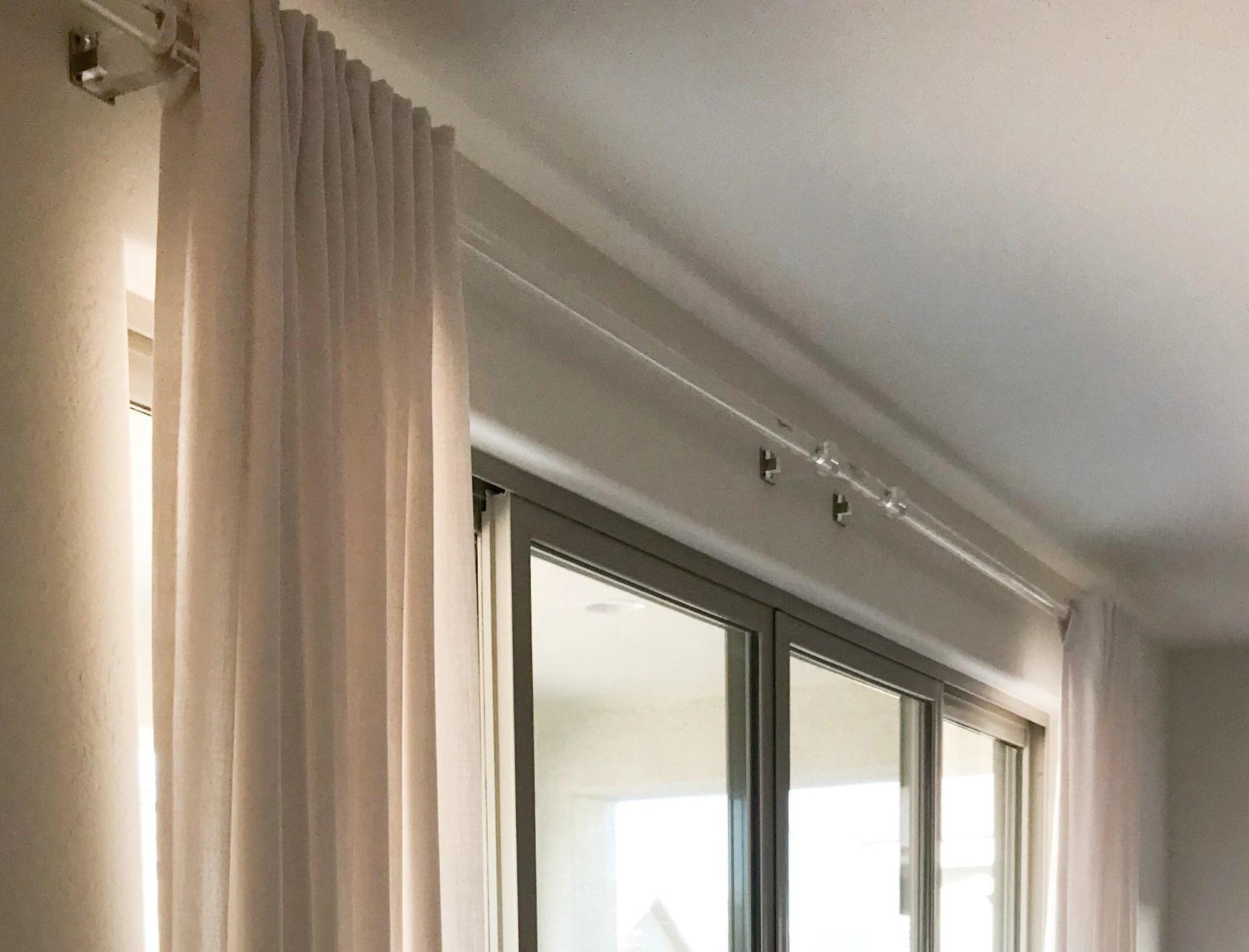 acrylic lucite curtain rod 1 3 8 inch diameter