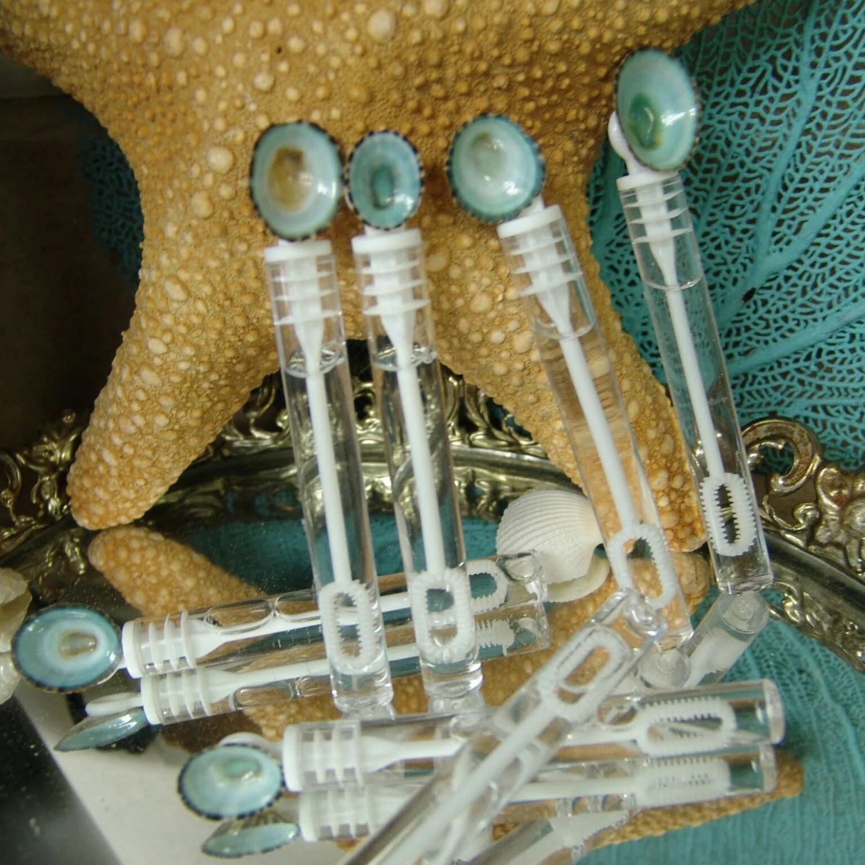 Blue Wedding Bubbles