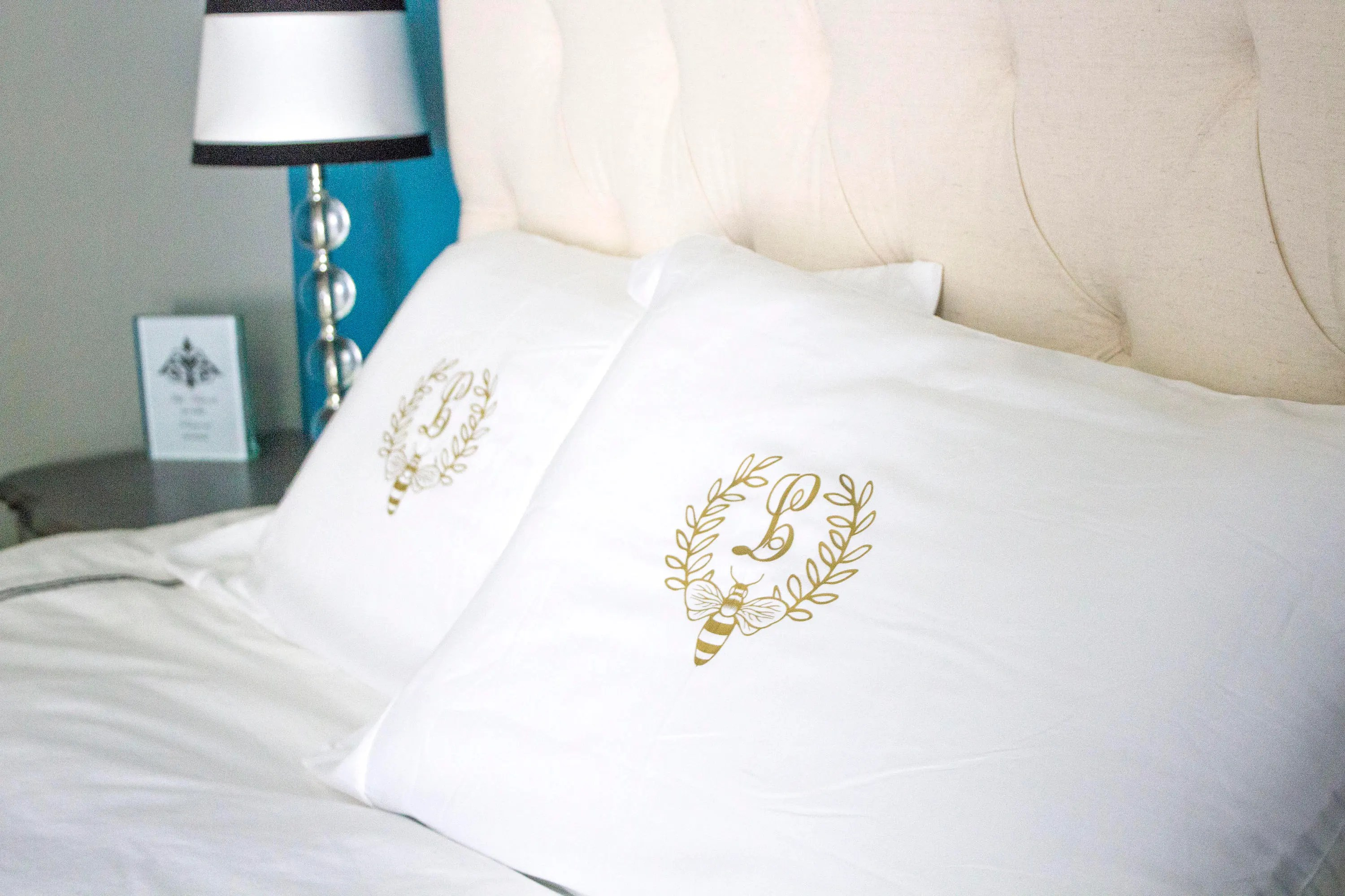 pillow cases with initials online