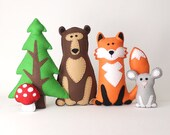 Woodland Stuffed Animal P...