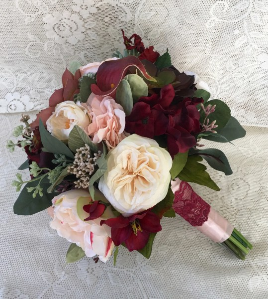 Silk wedding flowers   Etsy