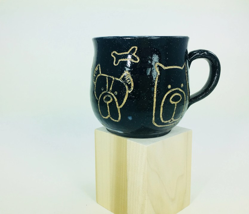 Mug - Black Dog Mug / Tea...