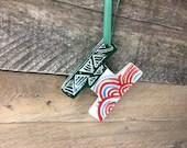 Ornament - H or I - Ceram...