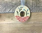 Ornament - O - Ceramic In...