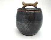 Jar - Pet Treat Jar w/ Sc...