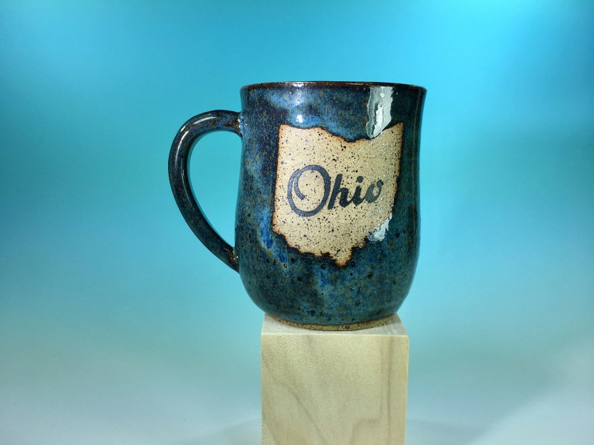 Mug - Ohio Denim Blue + B...