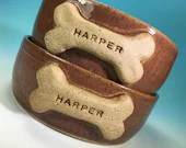 Dog Bowl Personalized with Your Pet's Name // Large Handmade Dog Food Dish // Gifts for Dogs or Dog Lovers - MADE TO ORDER