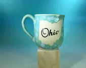 Mug - Ohio Speckled Aqua ...