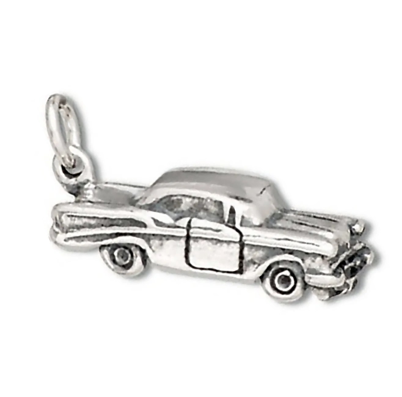 Sterling Silver Car Charm 50 S 2 Door Sedan Automobile