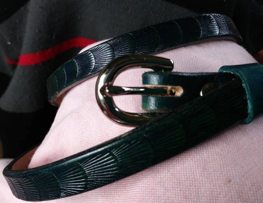 Leather belt, Women's...