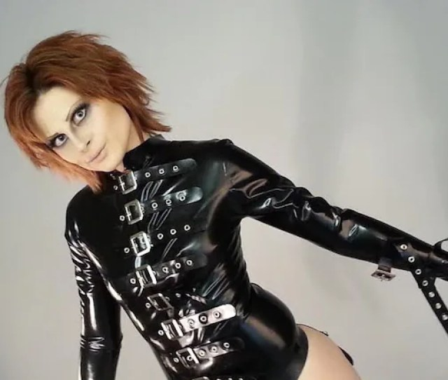 Latex Jacket Buckled Latex Bondage Coat