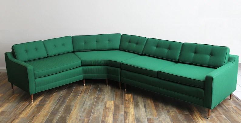 sale pending kroehler sectional sofa 1960 vintage furniture mid century couch restored furniture mid century sectional sectional
