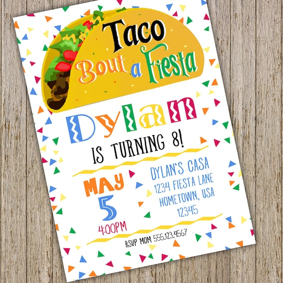 taco bout a party birthday invitation party invitation mexican fiesta invitation mexican birthday party invitation fiesta invite