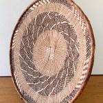 African Handwoven Grass Basket Wall Decor Woven Wall Baskets Tribal Baskets Hanging Wall Baskets