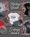 Bella Canvas Mockup Bundle T Shirt Mockup Bundle 5 Images Etsy