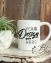 Mug Mockup Coffee Mug Mock Ups Styled Photo Blank Mug Mock Up Etsy