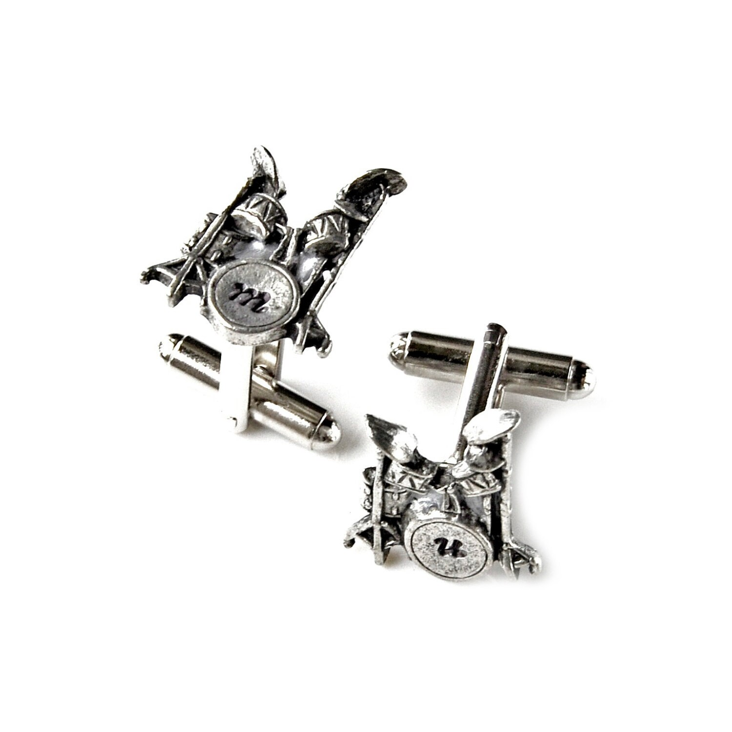 Customizable Drum Cufflinks The Perfect T On Sale Now