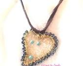 Turquoise Heart Dreamcatc...